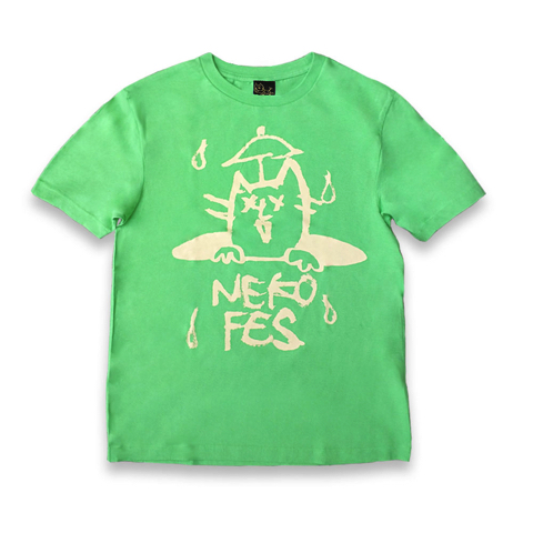 ねこふぇすTシャツ 2016 ライム×イエロー