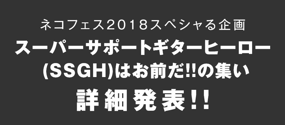 SSGHはお前だ!!の集い 詳細発表